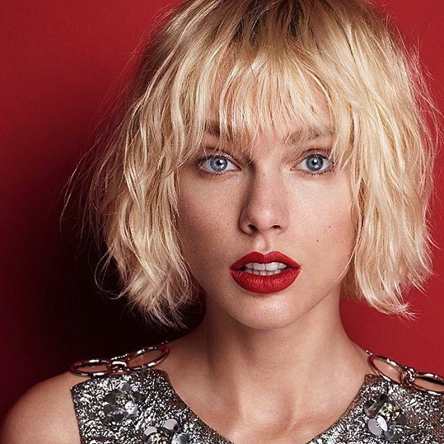 Palegingerbabies Taylor Swift Haircut Taylor Swift Bleached Hair Taylor Swift Photoshoot