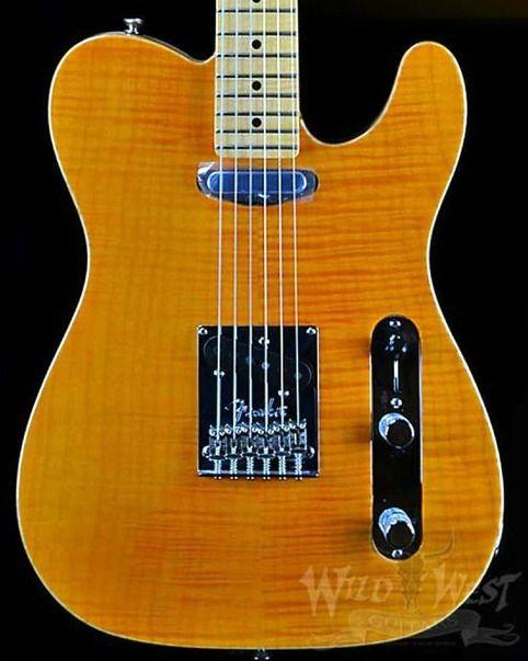 Wild West Guitars Fender Select Amber Telecaster Giveaway