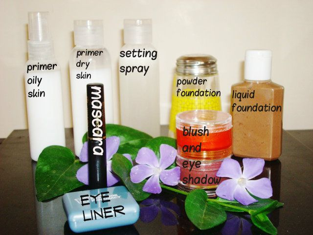 Diy Starter Makeup Kit And More Diy Primer Makeup Kit Diy Makeup