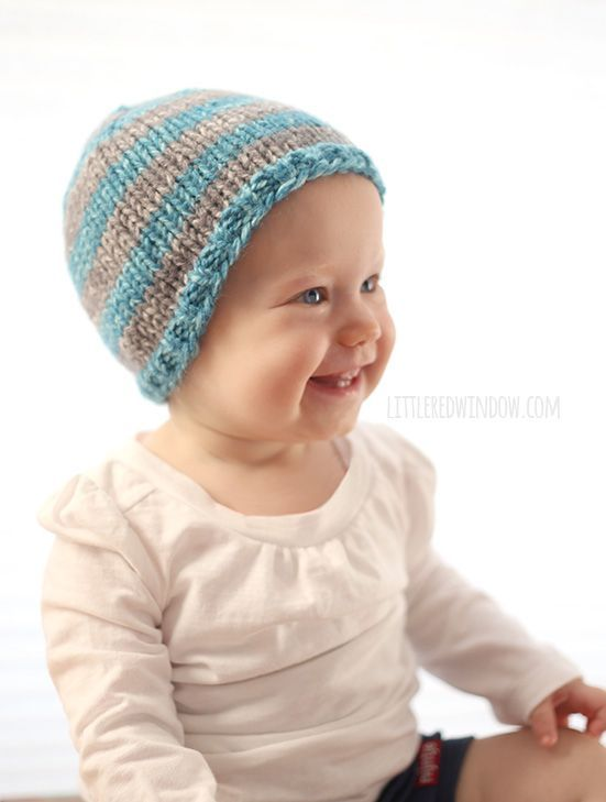 0a9748d12 The Do-Gooder Quick Knit Hat Free Knitting Pattern for Charity ...