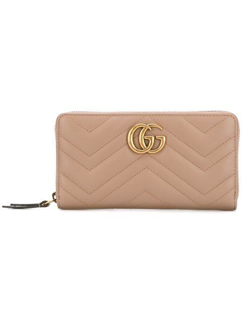b1aeb02170d3 GUCCI GG Marmont zip around wallet. #gucci #wallet | Gucci | Gucci ...