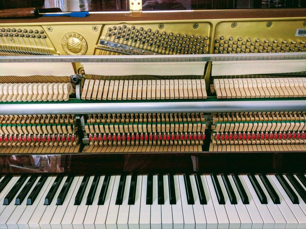 Piano Tuner Much Wenlock - Yamaha P122 Servicing and ...