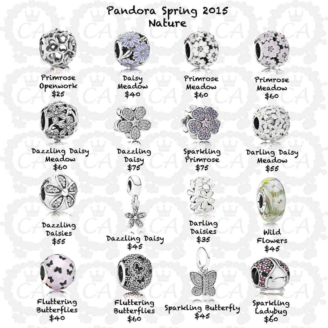 Specials On Pandora Bracelets Prices Of Pandora Charms