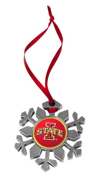 Iowa State Cyclones - Snow Flake Ornament