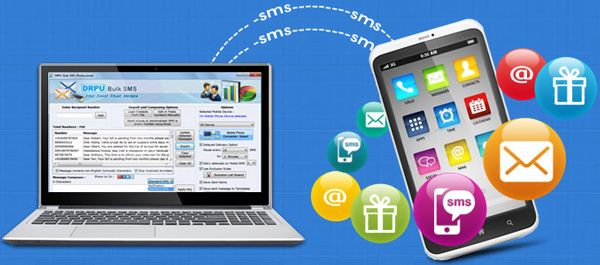 DRPU Bulk SMS Software send text messages without