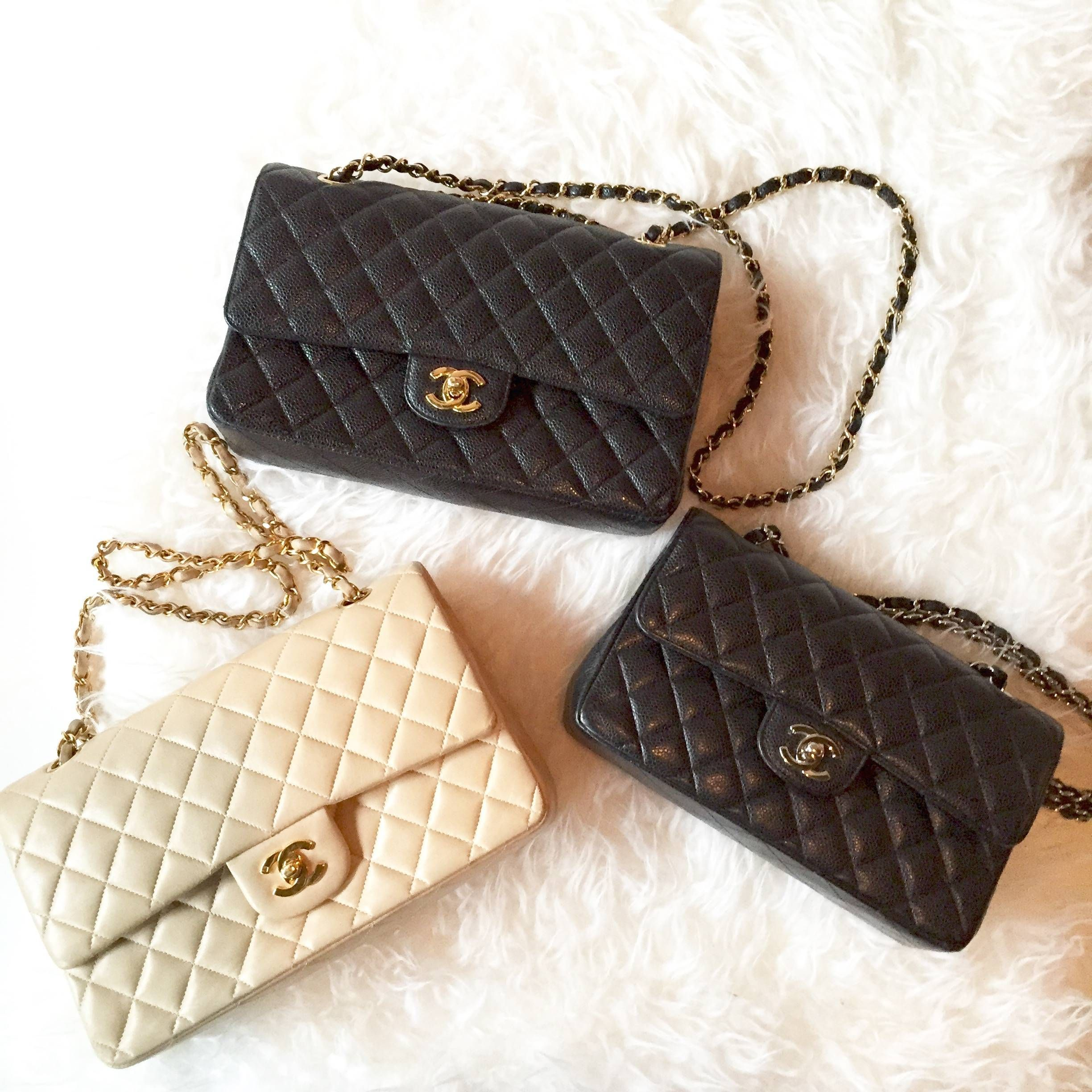2d6cbfbfa09e Beautiful selection of pre-owned Chanel bags available at www.lovethatbag.ca