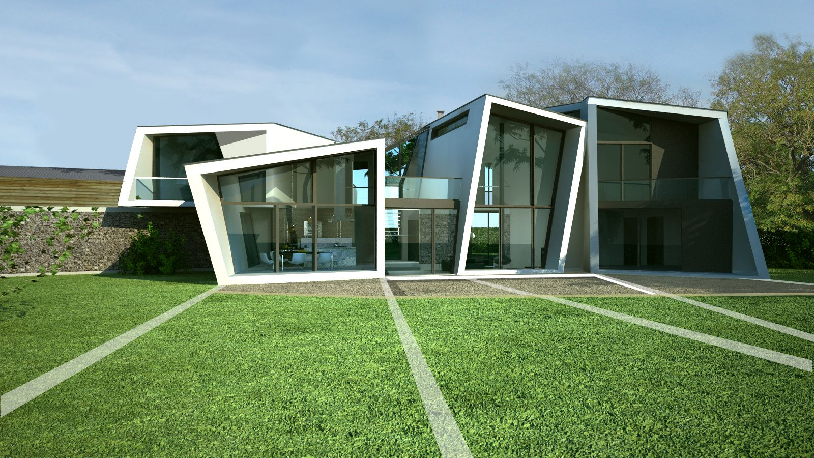 Badgers View Farm House 1 Wow Factor At Modern By Lewis Hickey