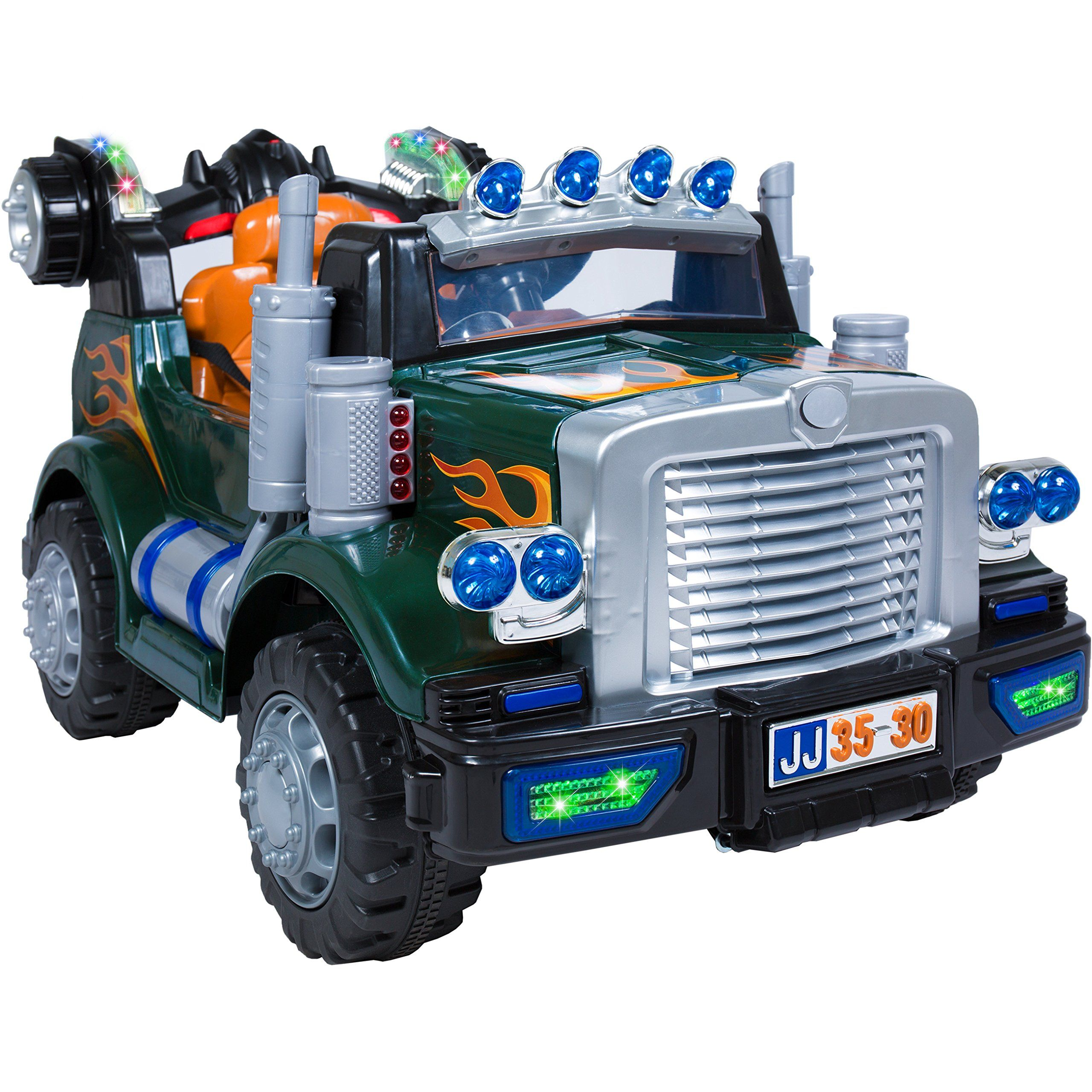 Toys for kids 8 and up  Best Choice Products Kids V Remote Control Truck Ride On with MP