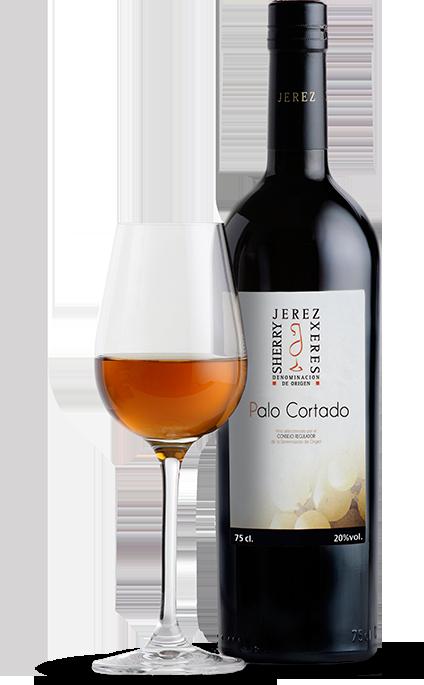Palo Cortado Sherry wine, Wines, Rosé wine bottle