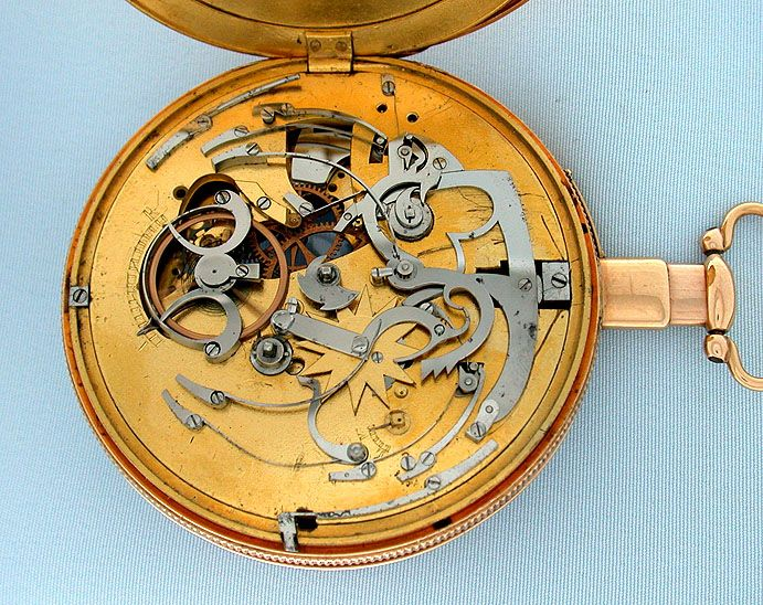 Antique Pocket Watches - Automaton Repeater #5966 Automaton Repeater