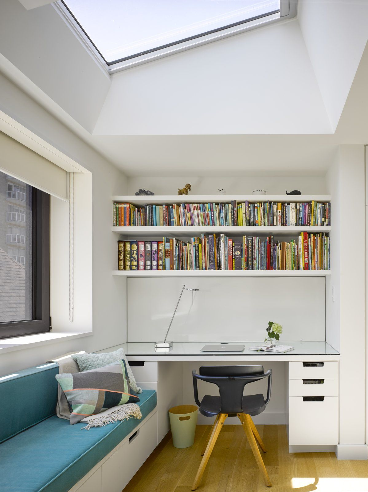 Elegant Study Room: An Elegant Edwardian Home Is Treated To A Thoughtful