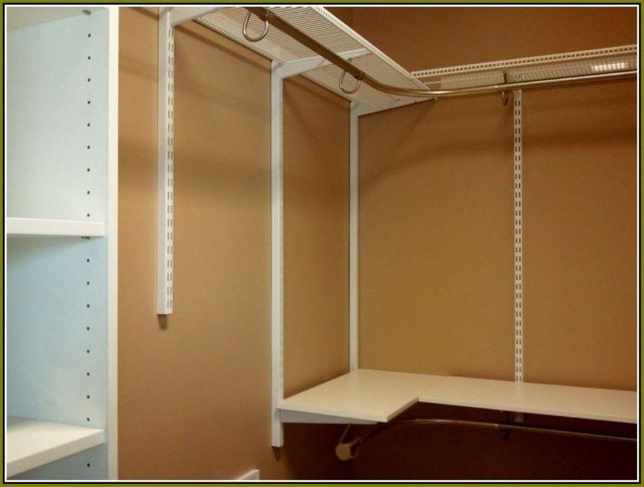Image Of Corner Closet Shelving System House N Home Pinterest Rh Pinterest  Com Closet Corner Solutions