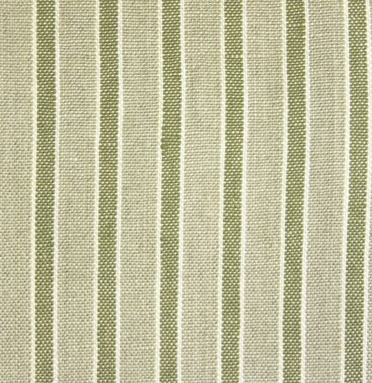 Kentwell Stripe Fabric A Woven Linen Stripe Fabric In Taupe With A Olive Green Stripe Highlighted I Olive Green Curtains Striped Curtain Fabric Striped Fabrics