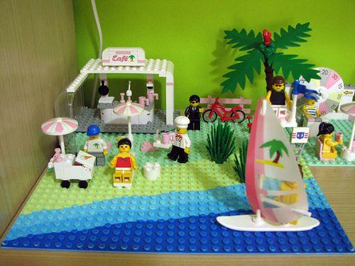 Lego Paradisa 6411 Sand Dollar Cafe Lego Girls Nostalgic Toys Childhood Toys