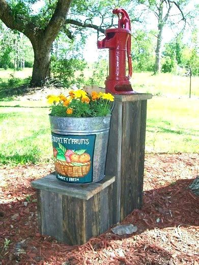 Decorative Outdoor Well Pump Covers Alike The Bucket