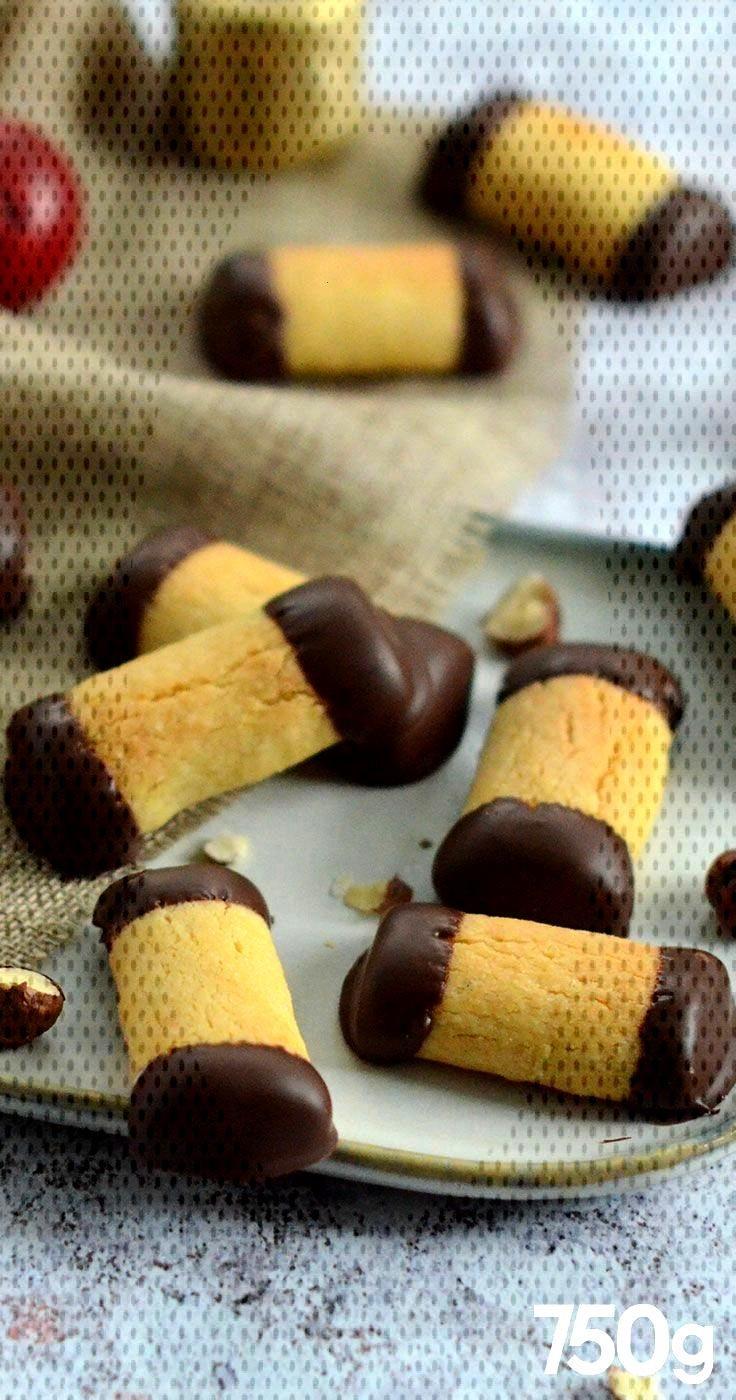 Bredele aux noisettes et au chocolat Bredele aux noisettes et au chocolat
