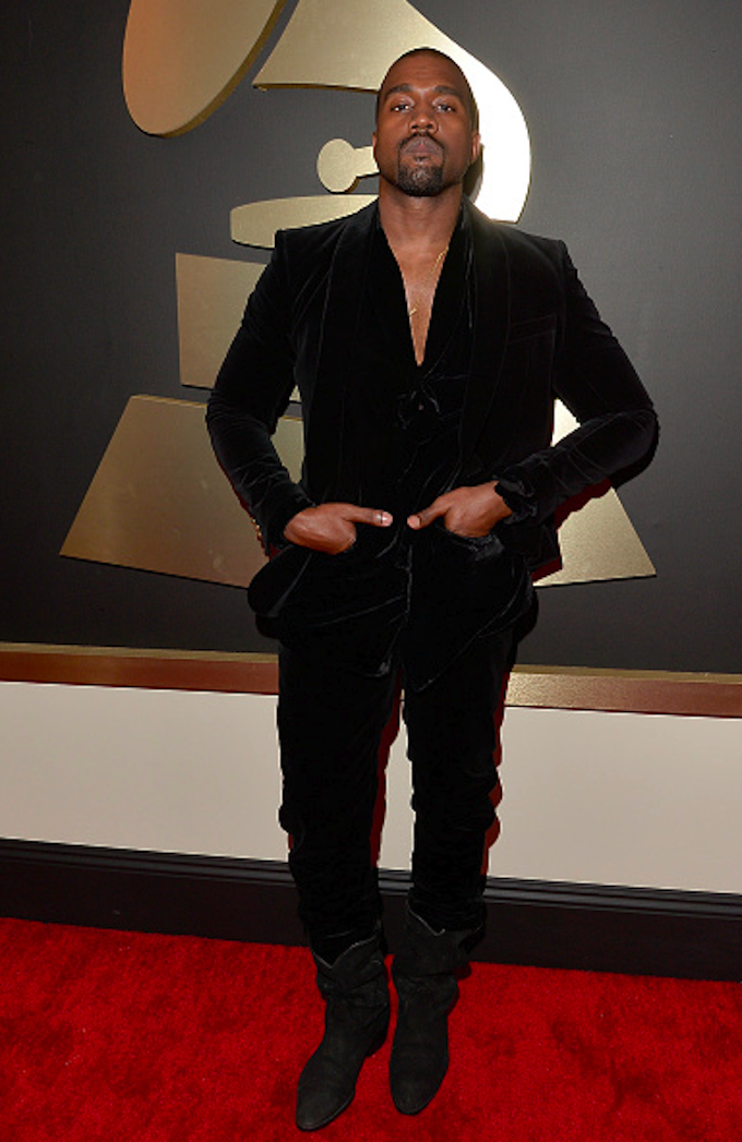 The Biggest Celebrity Style Fails And Wins Of The Grammys Kanye West Kanye West Interview Kanye Fashion