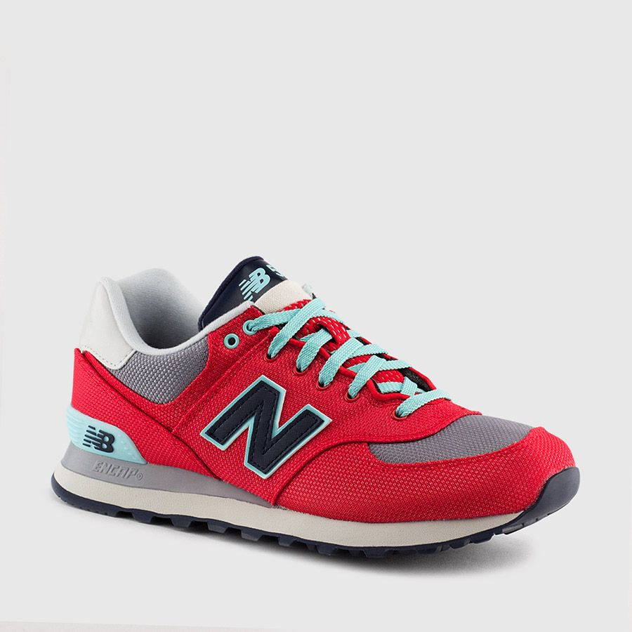 New Balance Women's 574 Leather (Winter Harbor) | Lace