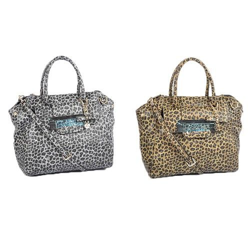 Guess Women Handbag Leopard Print Cross Body Bag Handbags Campaign Categories