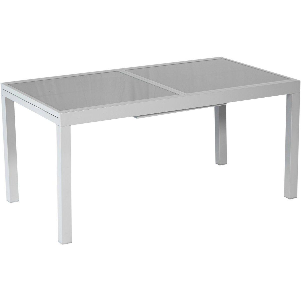 Gartentisch 160 220 Cm X 90 Cm Ausziehbar Grau Jetzt Bestellen