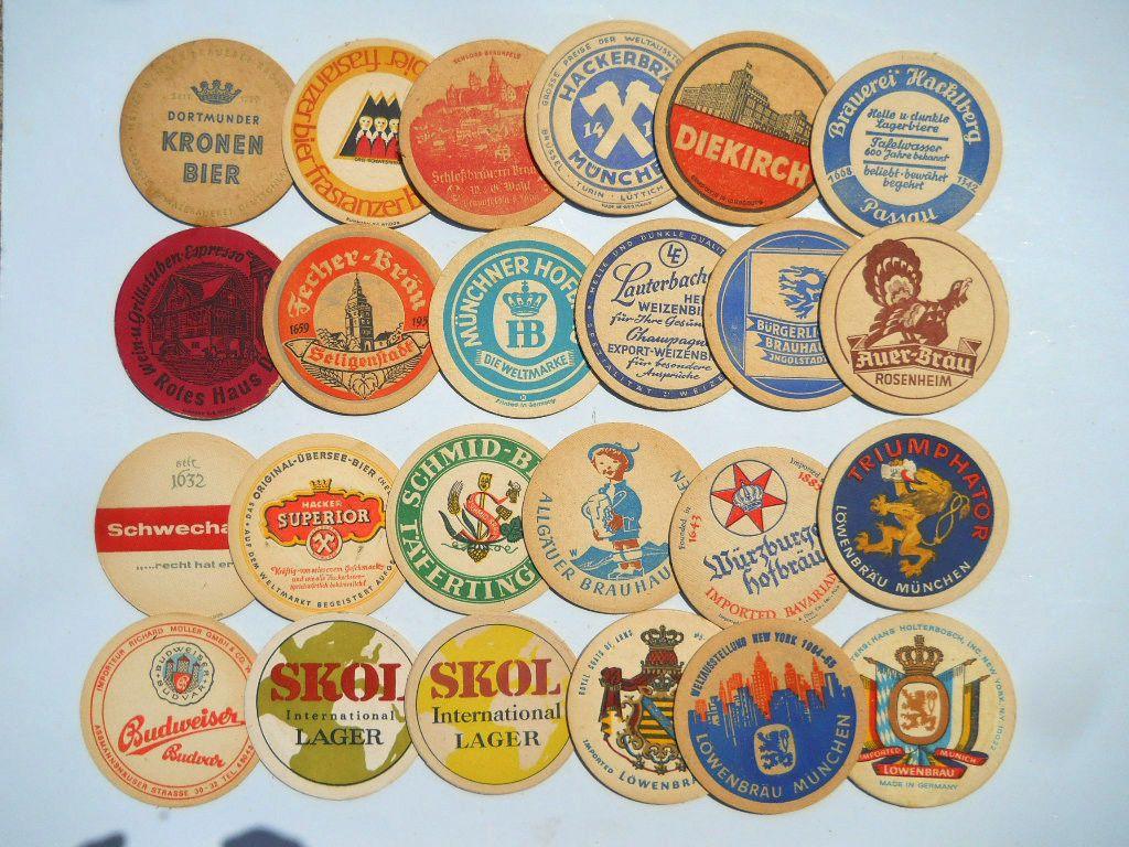 German Beer Coasters Vintage Pinterest Beer Coasters