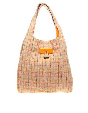 House of Holland Harris Tweed Check Bag
