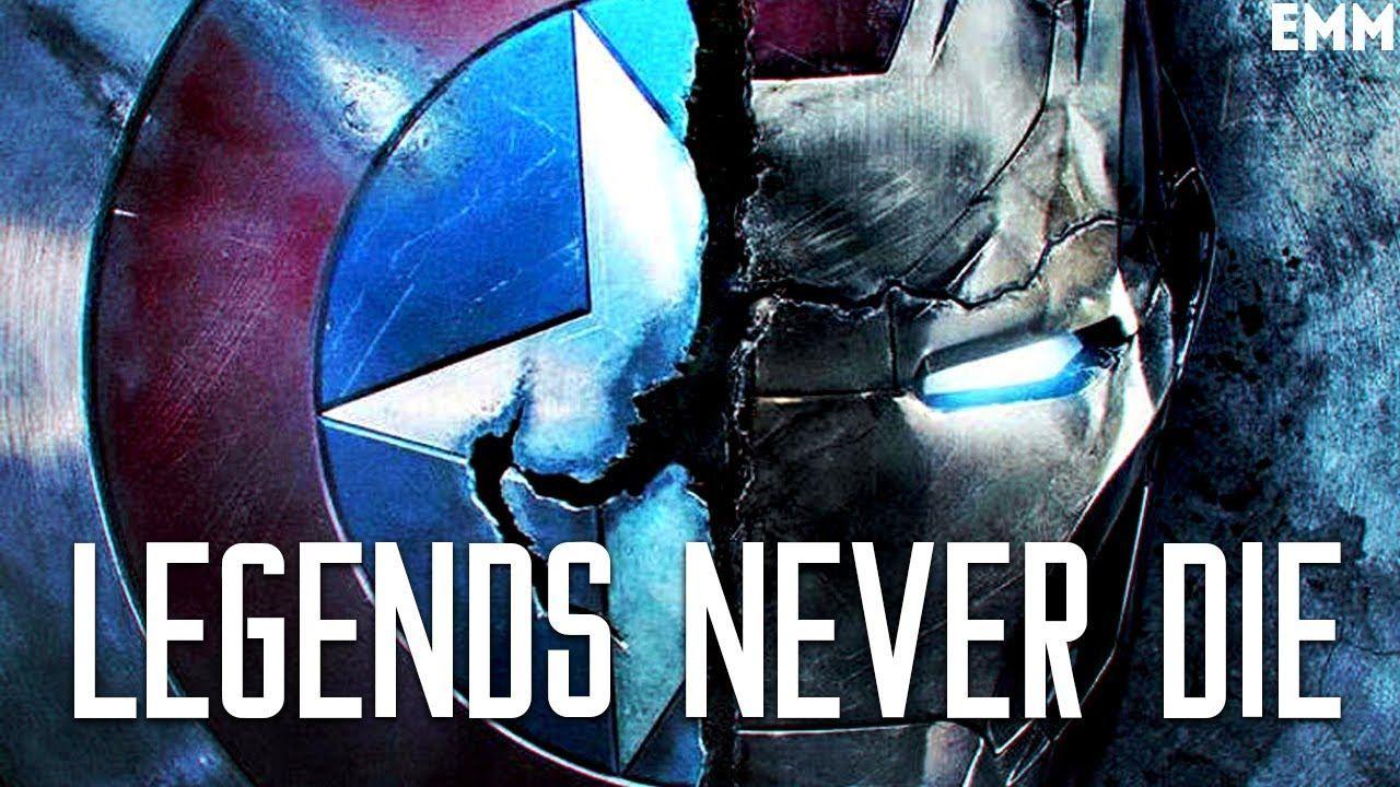 Iron Man Amp Captain America Legends Never Die Cant Hold Us Iron Man Captain America Captain America Civil