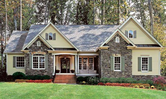 new craftsman ranch design 1317 ranch homes exteriordream - Craftsman Ranch Home Exterior