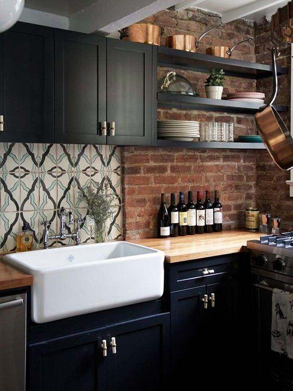 Las cocinas negras son las nuevas cocinas blancas Apartment
