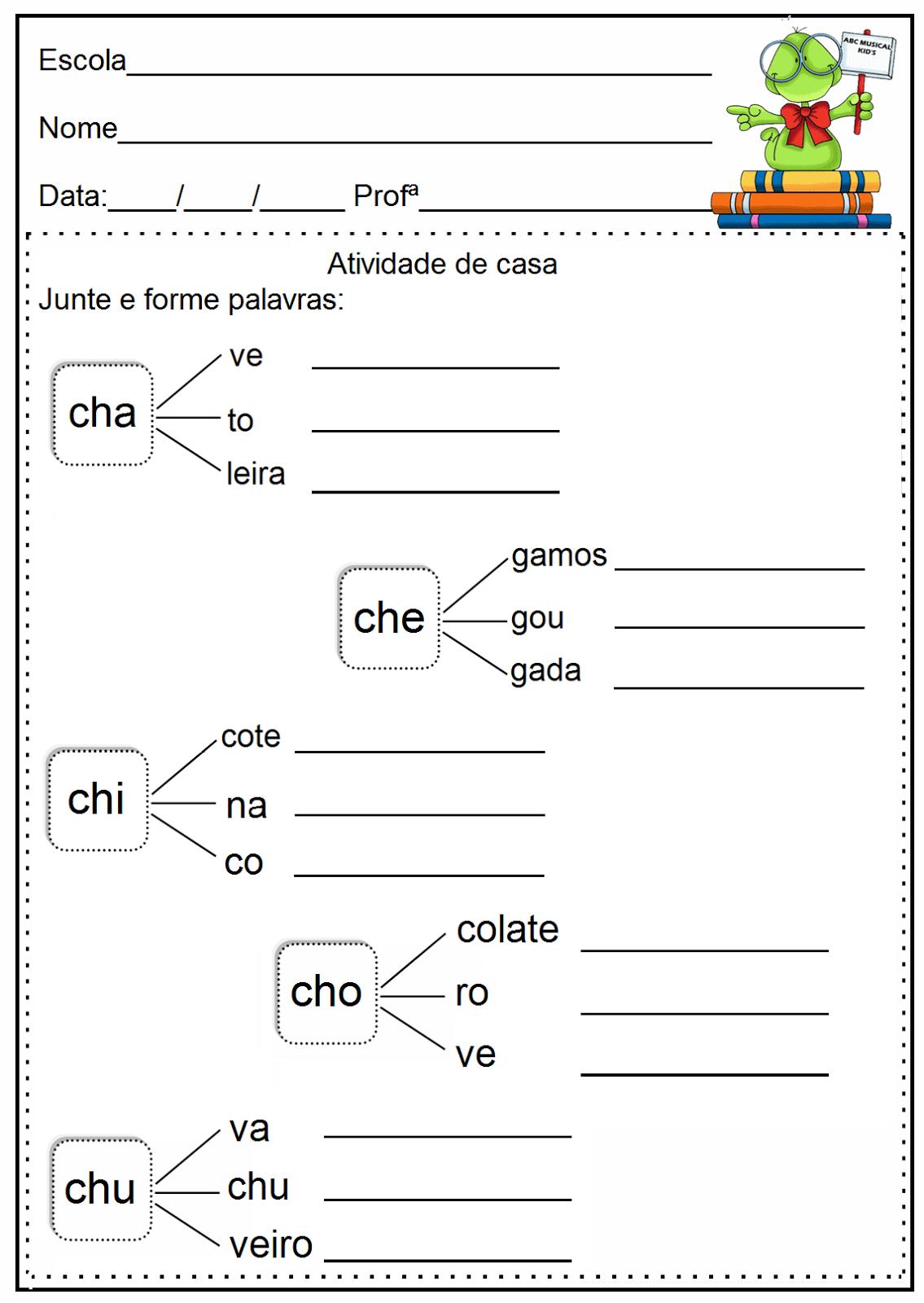 ATIVIDADES DE EDUCAÇÃO INFANTIL E MUSICALIZAÇÃO INFANTIL: Linguagem ...
