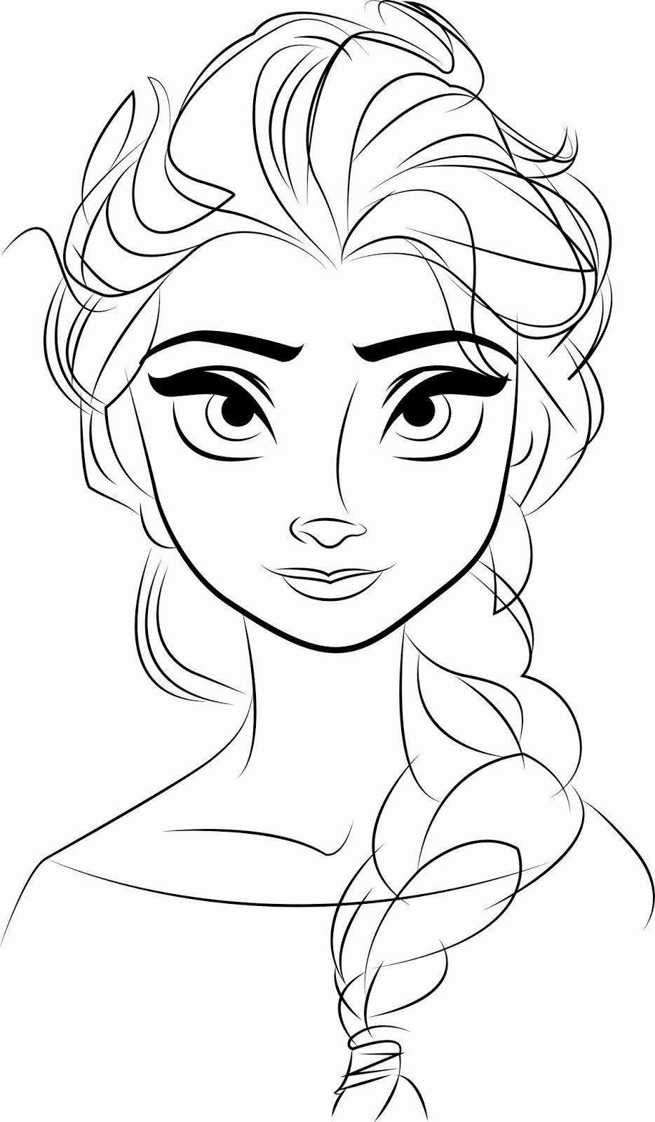 28 Elsa Frozen Coloring Page in 2020 Elsa coloring pages