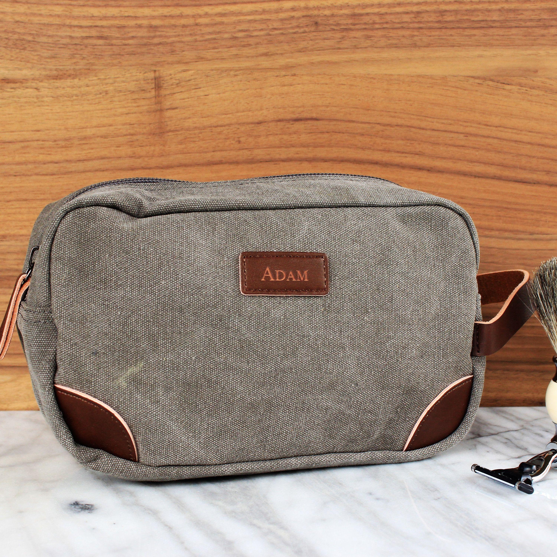 2aa32600e838 The Teton™ - Groosmen Gift, Travel Size Toiletry Bag - Personalized ...