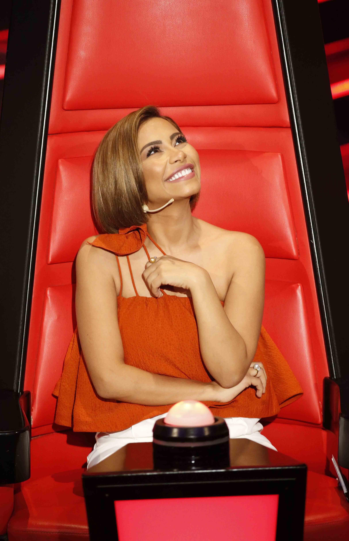 شيرين عبد الوهاب في The Voice Arabian Beauty Photoshoot Summer