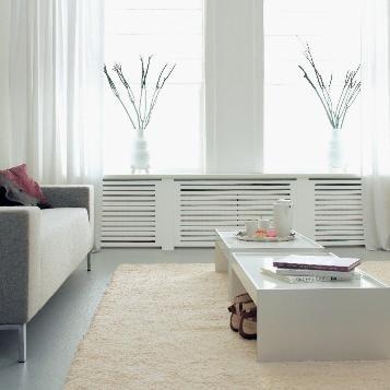 Radiatorbekleding chester - woonkamer | Pinterest - Collages en Hout