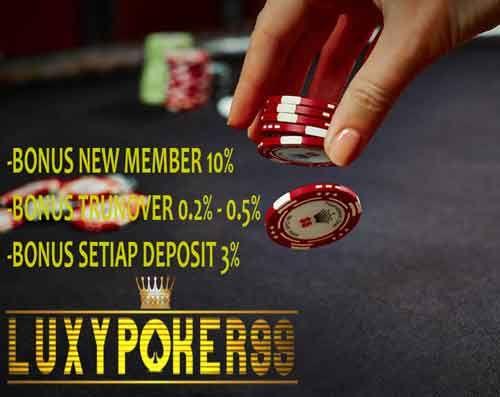Pin Di Agen Poker Online Luxy Poker 99
