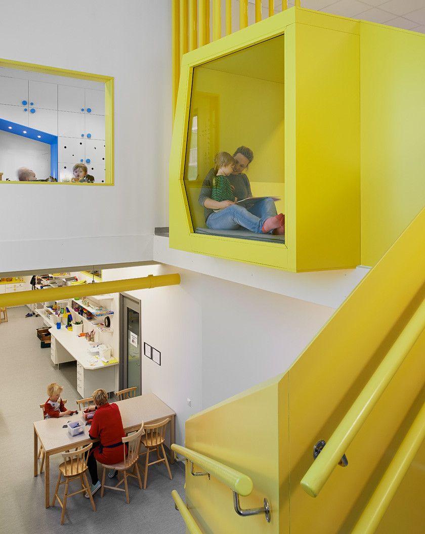 Sj torget kindergarten rotstein arkitekter for Diseno curricular de jardin maternal
