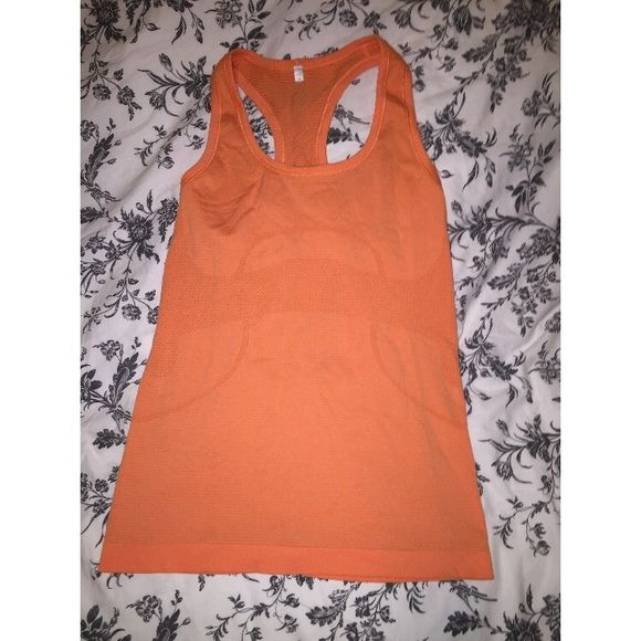 Lululemon workout shirt This is a nice fun workout shirt. Very light and breathable material. lululemon athletica Tops Tank Tops