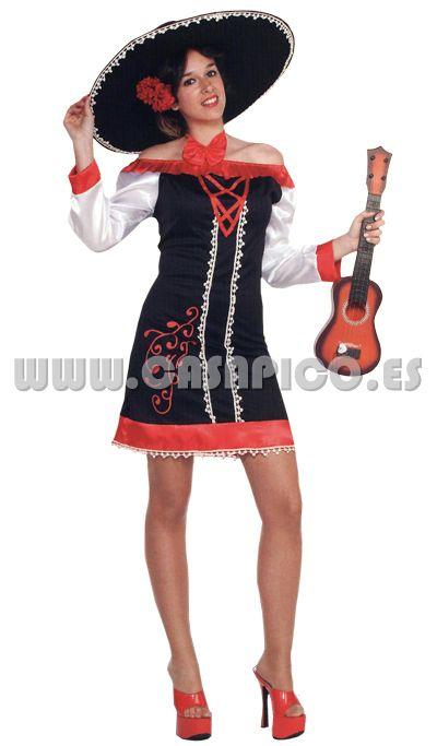 Sexy  disfraz de Mexicana para mujer  casapico  disfracescasapico Mariachi  Mujer 249b48d3e2d