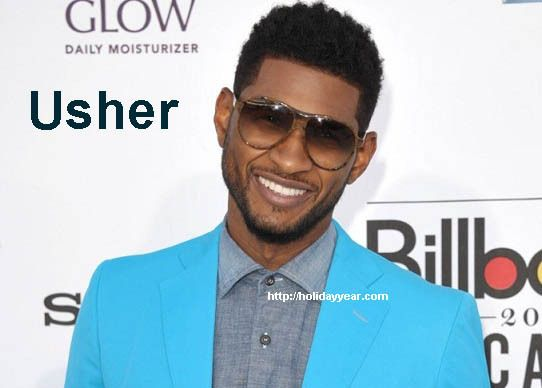 Oct 14 Usher Raymond Iv American Singer And Actor Was Born Today For More Famous Birthdays Http Holidayyear Com Birt American Singers Usher Raymond Usher