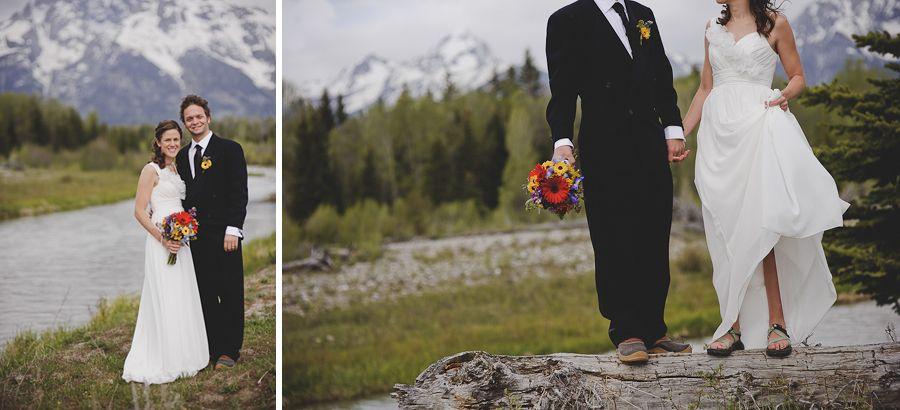 grand teton wedding, elopement, sunglow photography