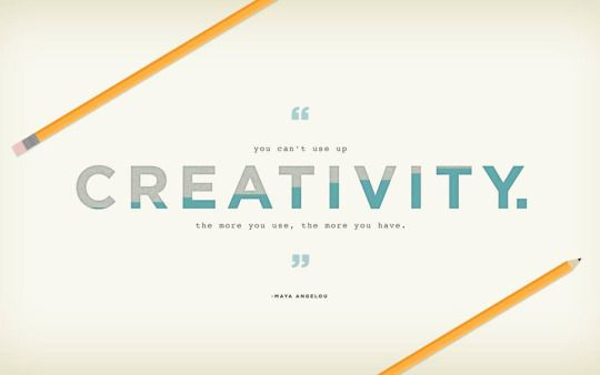 You Can T Use Up Creativity What Are You Waiting For Get Creative Desktop Wallpaper Desktop Background Quote Free Desktop Wallpaper