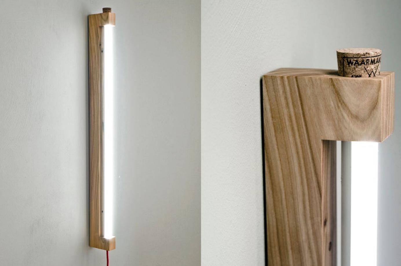 Les Neons Modernes De Waamakers Con Imagenes Tubos Led Lamparas De Pared Lampara Diy