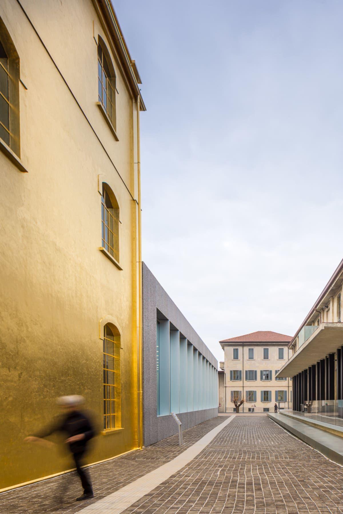 OMA - Office of Metropolitan Architecture, Simón García, Attilio Maranzano, Bas Princen, Roland Halbe · Prada Foundation in Milan