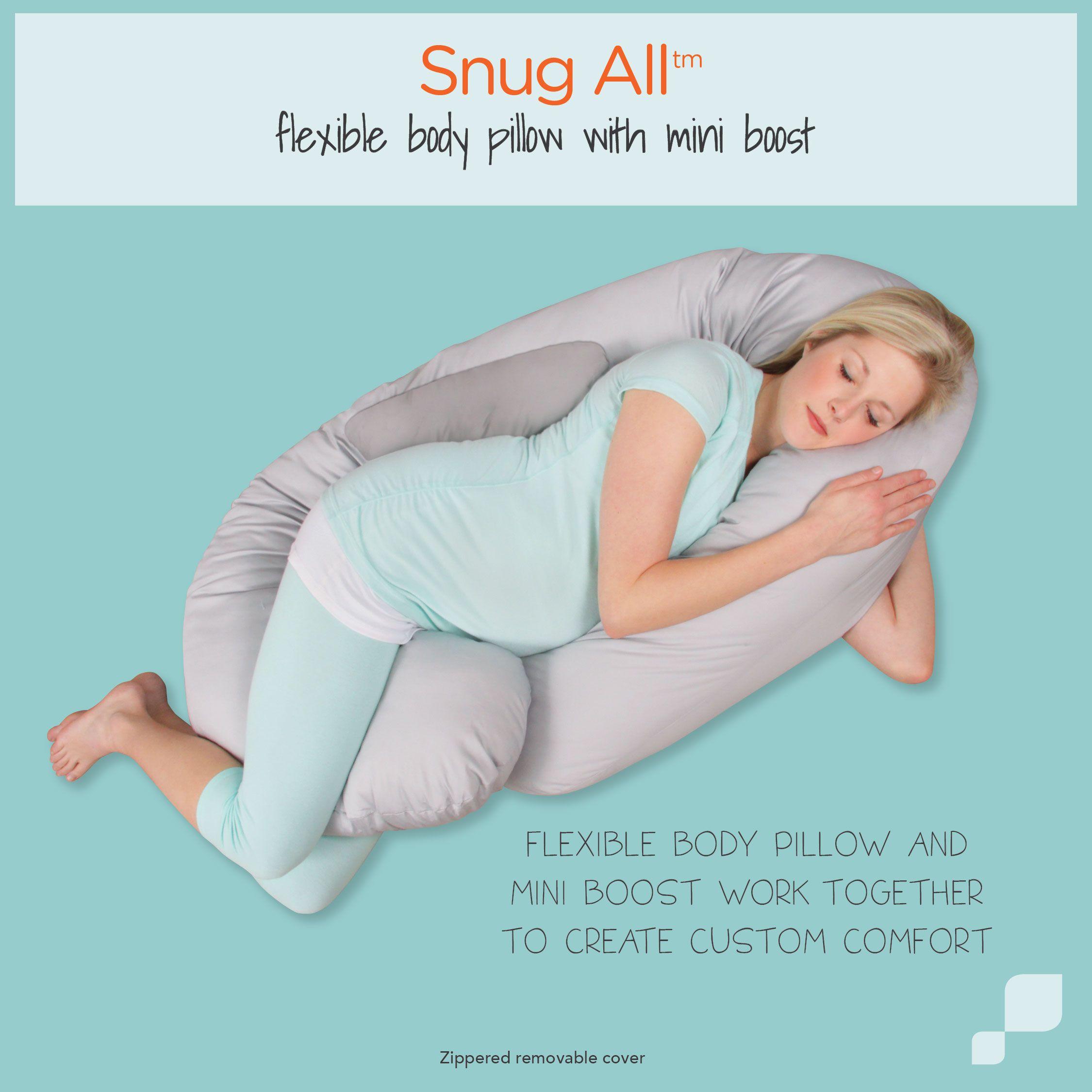 Body pillow, Snug, Machine wash pillows