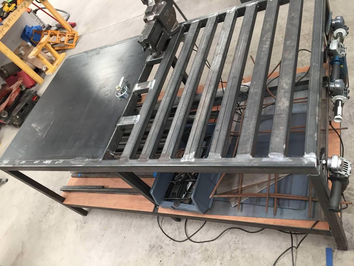 Welding table build in 2020 welding table welding