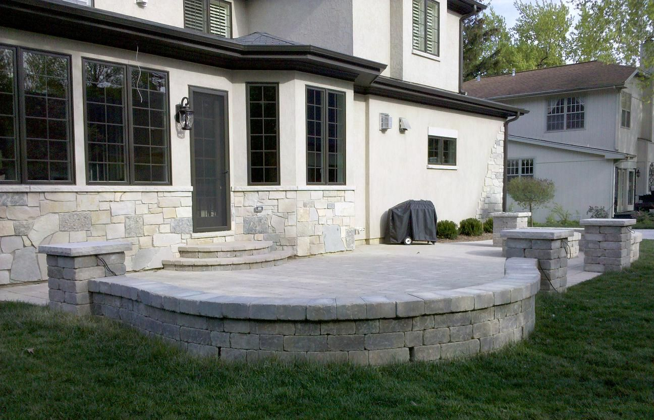 Wonderful Retaining Wall Design Pilers   Patios And Retaining Walls