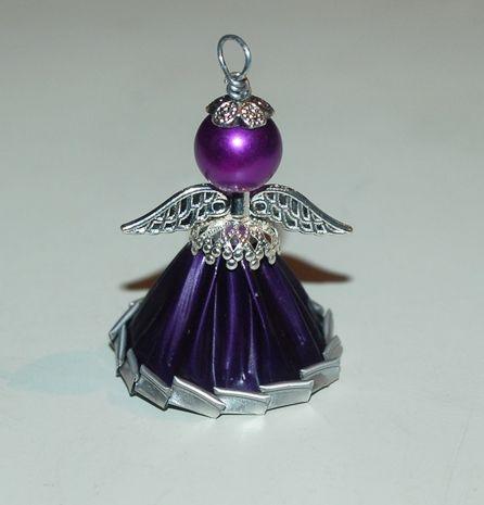 Nespresso engel angel nespresso baby shower reciclar for Manualidades souvenirs navidenos