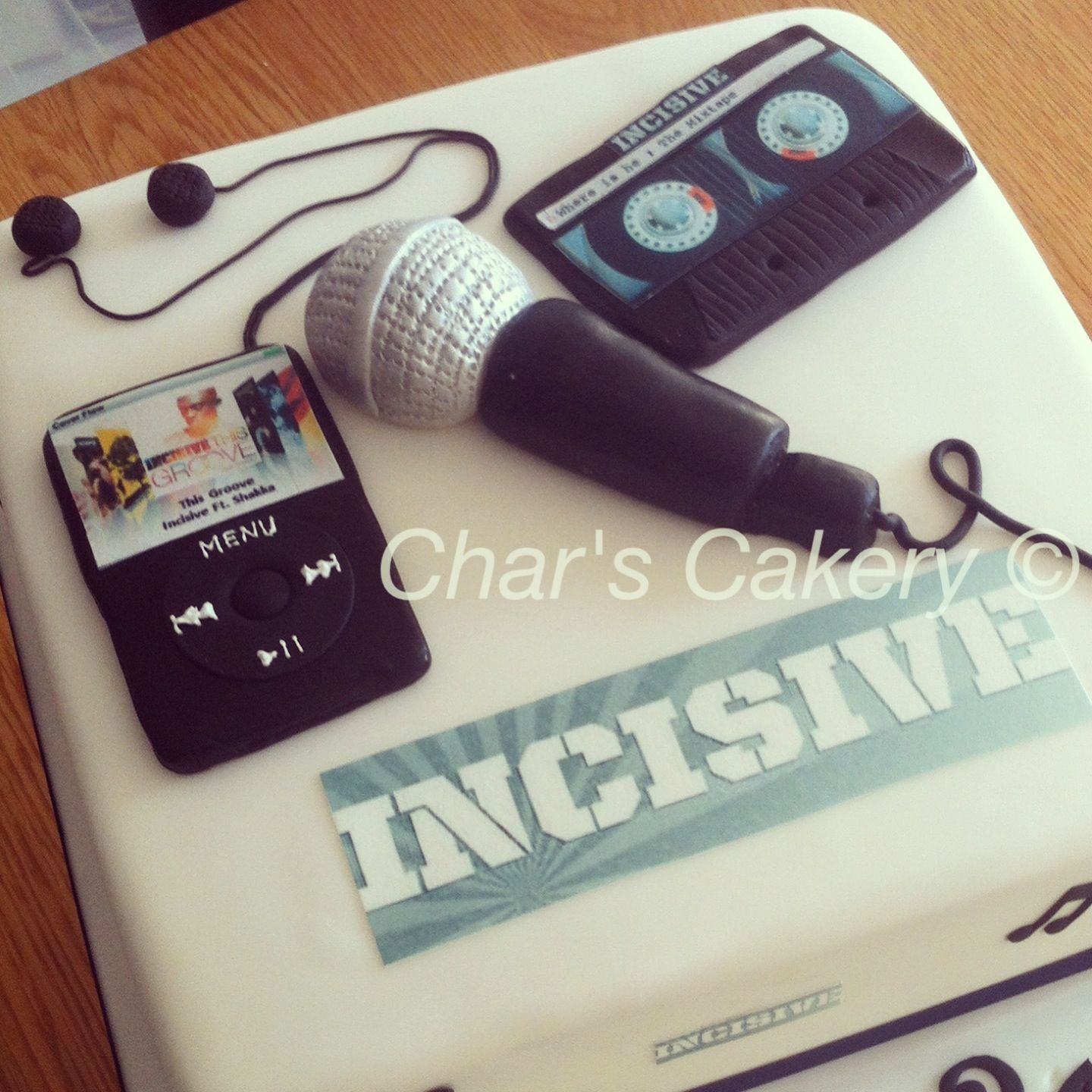 Themed Cake For A Uk Rap Artist.