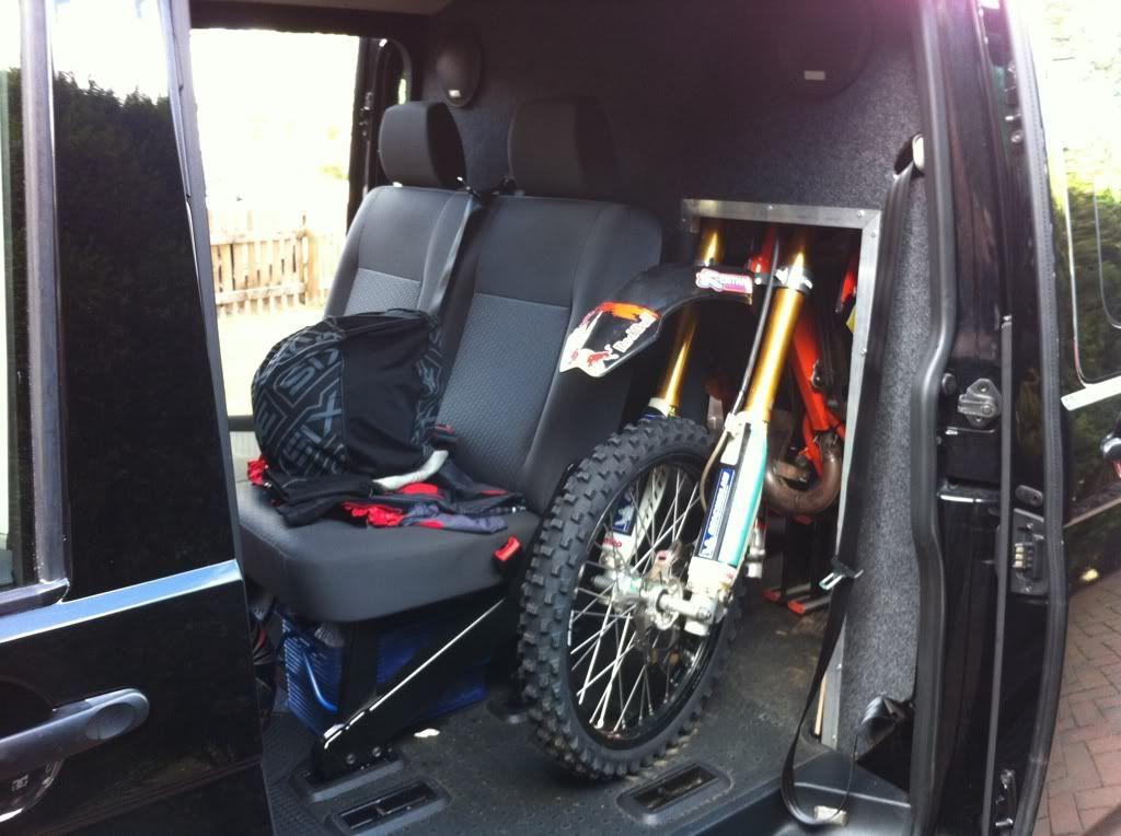 VW T5 Transporter lwb moto setup - Moto-Related ...