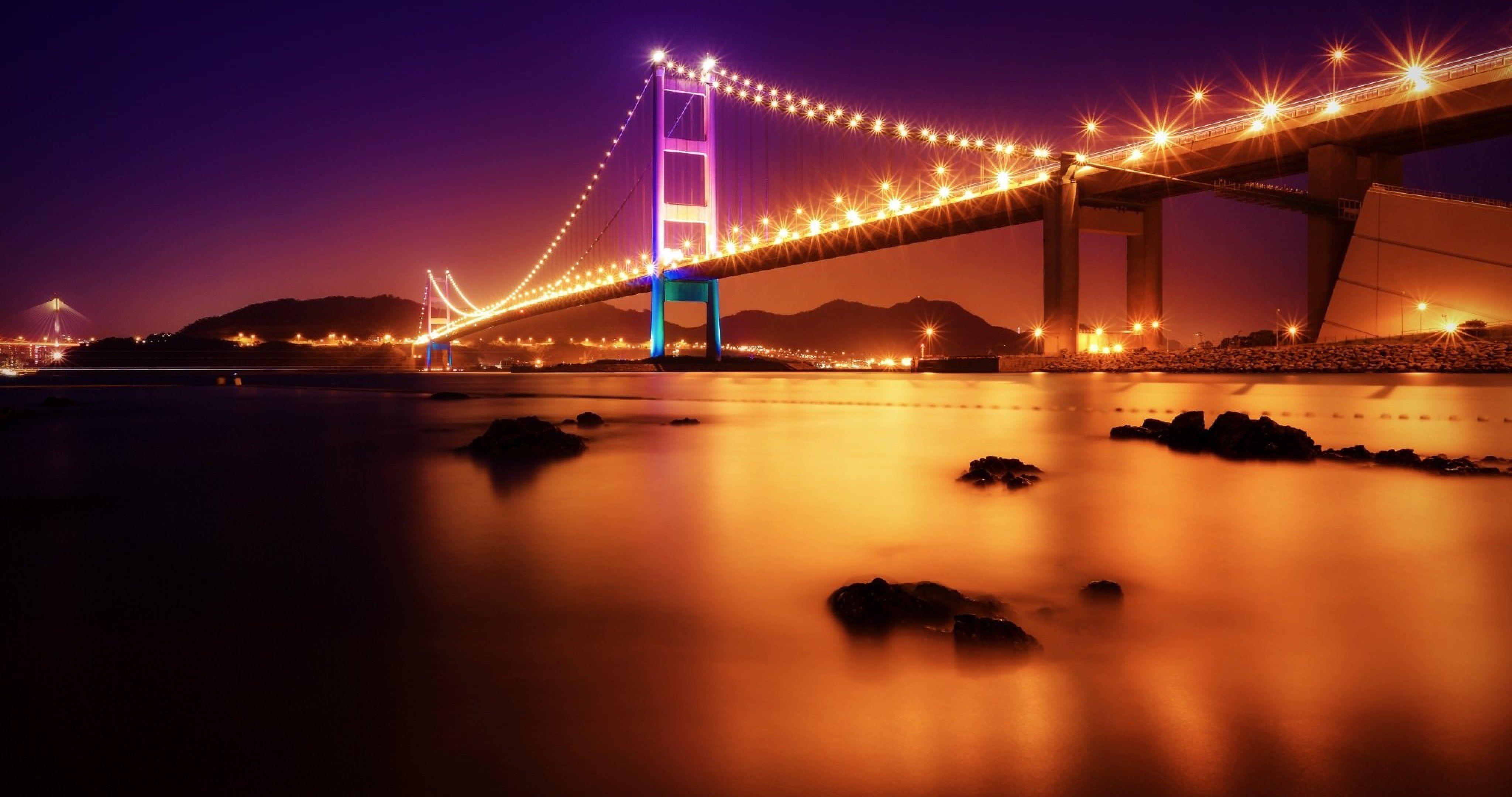 Tsing Ma Bridge 4k Ultra Hd Wallpaper Hd Wallpaper Hd Wallpapers Iphone6 Wallpaper